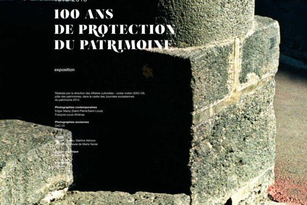 100 ans de monuments historiques